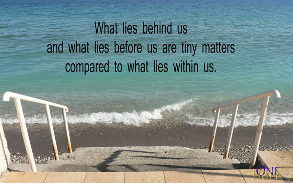 Captivating Quote 10. What Lies Behind Us ...